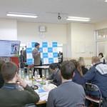 内閣府事業で海外青年団が視察のため来校しました