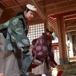 《地域から引き継ぐ伝統芸能》御田の舞を奉納