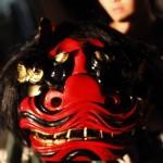 獅子舞の練習in志賀野丹生神社